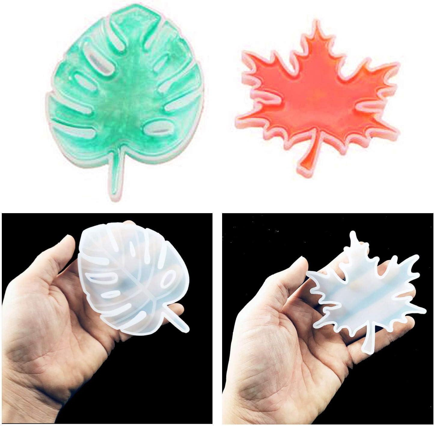 Maple Leaf SILICONE MOLD Craft Stampo in resina gioielli Collana ciondolo che fai da te