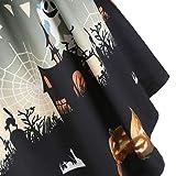 charmsamx Women Halloween Dresses Long Sleeve Mesh