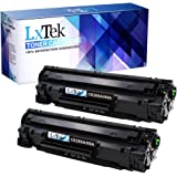LxTek Laserjet Pro P1102w Toner Cartridge Replacement Set for Compatible CE285A 85A for Use in Laserjet Pro P1102/P1102W/P1109W/M1217NFW MFP/M1212NF MFP/M1132/M1214NFH Printer