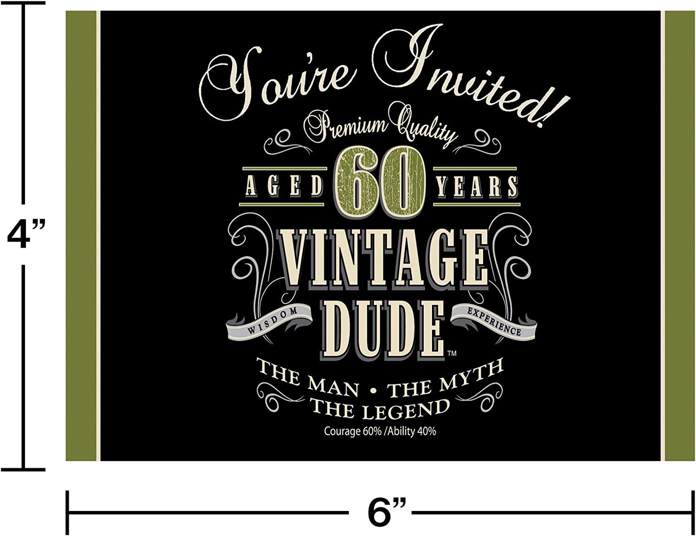 Invitations Birthday 30 40 50 Years-ANY AGE and text Dog Funny