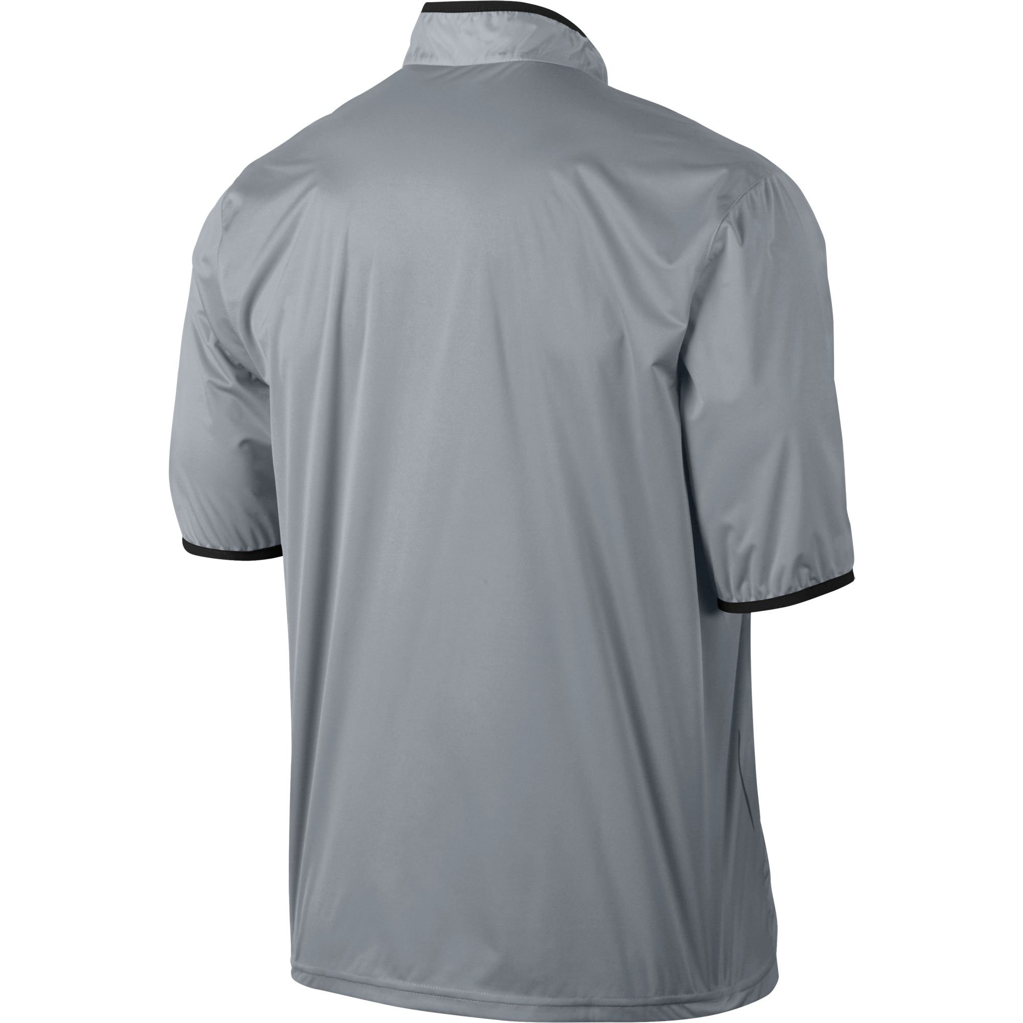 NIKE CLOSEOUT Shield Men's Short Sleeve Golf Jacket (Wolf Grey, Medium) by NIKE