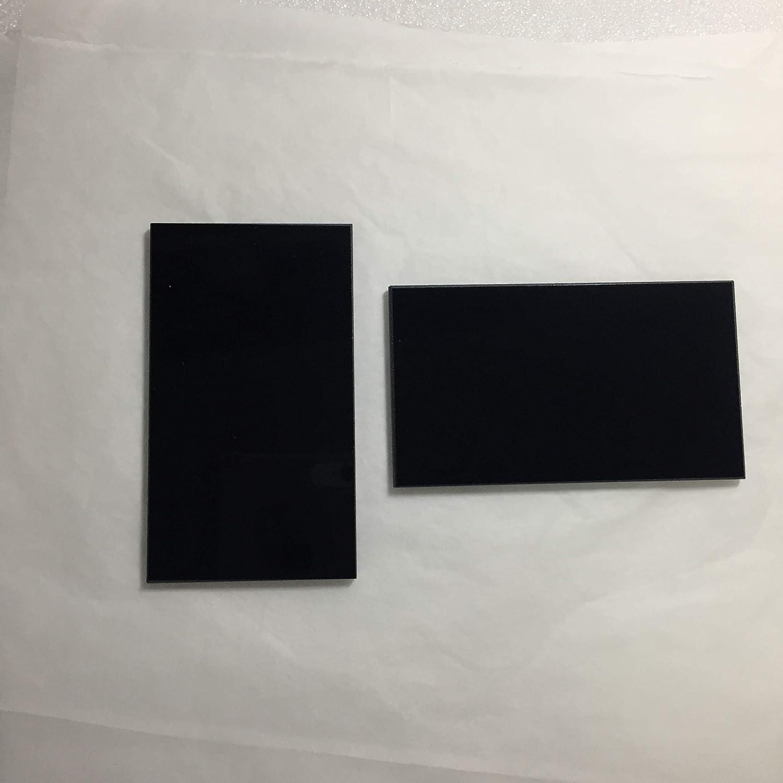 40x70x3.0mm 312nm ZWB1 UG11 U-340 302nm UV Pass Filter Visible Light Cut Optical Glass