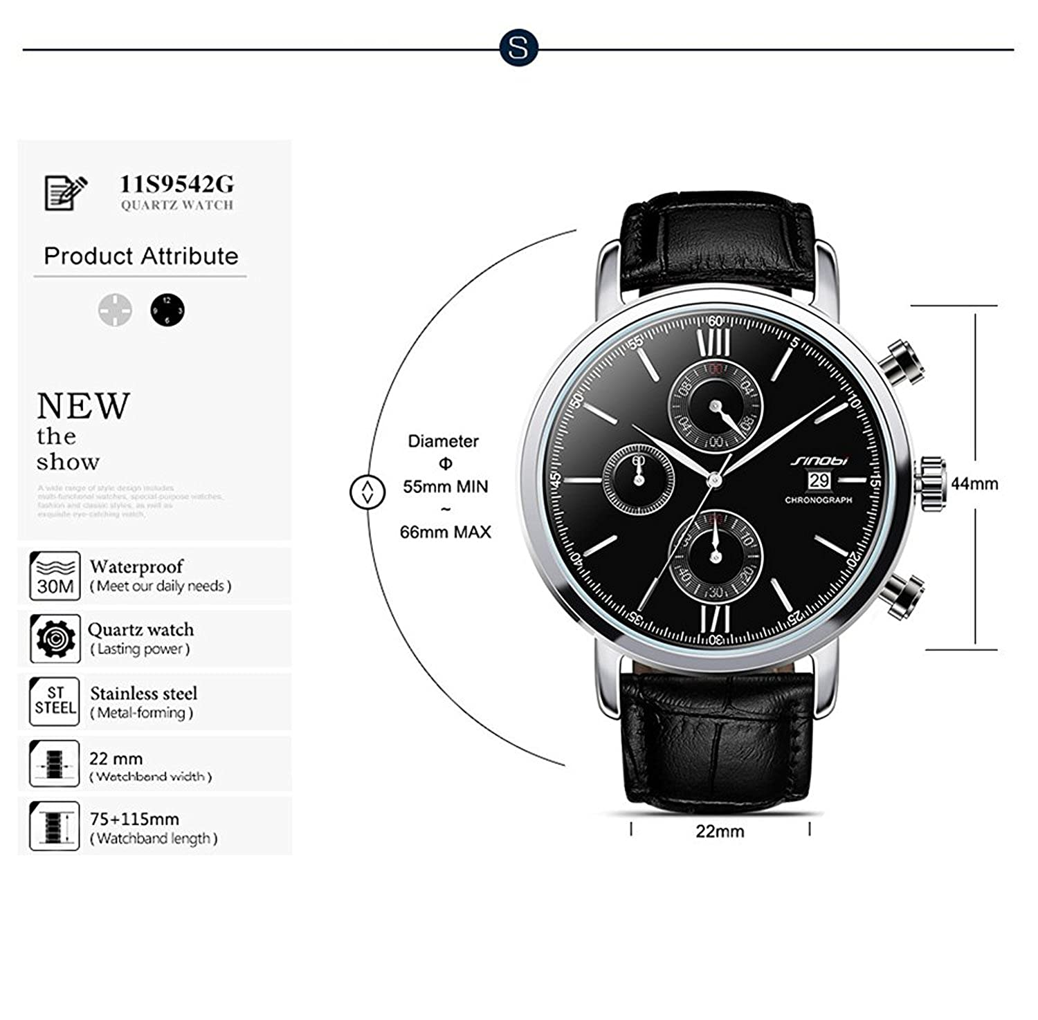 Amazon.com: Relojes de Hombre de Moda 2018 Male Mens Watches Fashion Casual Quartz Watches RE0089: Watches