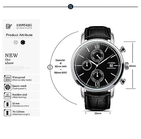 Amazon.com: Relojes de Hombre de Moda 2018 Male Mens Watches Fashion Casual Quartz Watches RE0089: Watches