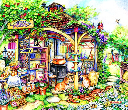 The Apiary 550 Piece Jigsaw Puzzle by SunsOut