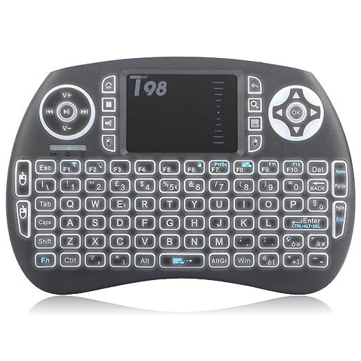 116 opinioni per Zenoplige Mini Tastiera Wireless Keyboard 2.4GHz Layout ITALIANO Ergonomica