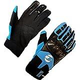 Tenn Unisex Leather & Carbon Cycling MTB Knuckle Gloves