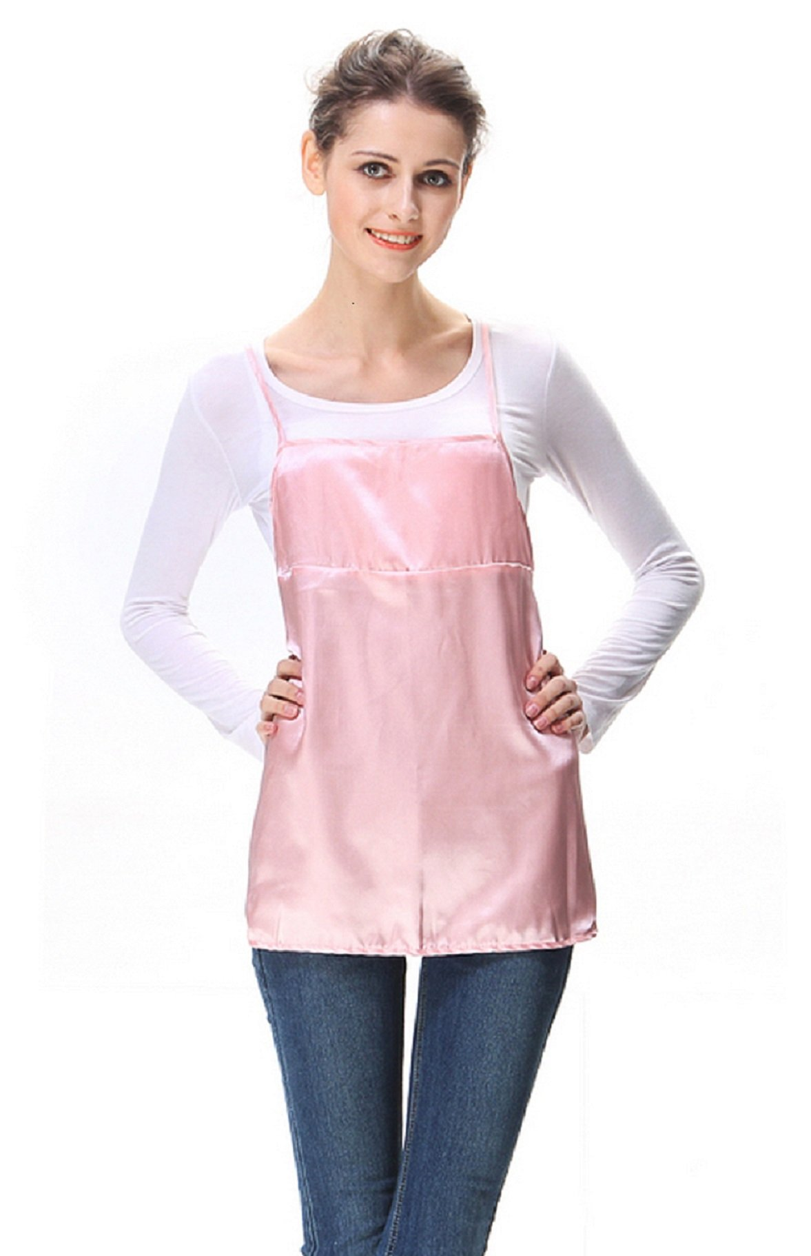 Anti-Radiation Maternity Clothes Belly Tee Protection Shield Pink 8900639 by OURSURE