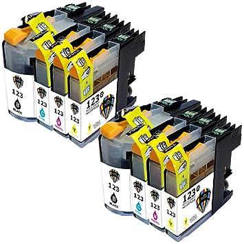 Cartuchos de repuesto compatibles con la impresora Brother MFC ...