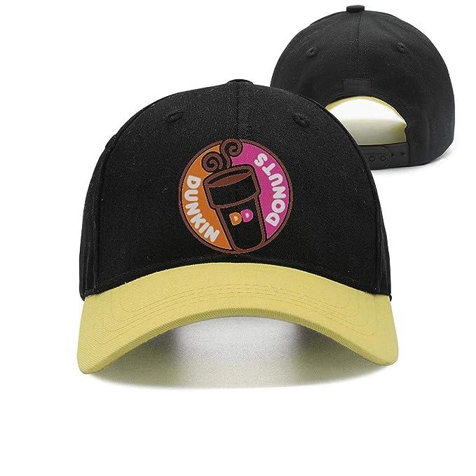 0ecea5d55c3a8 Unisex Adjustable Dunkin -Donuts- Snapback Baseball caps Vintage Snapback  Hat