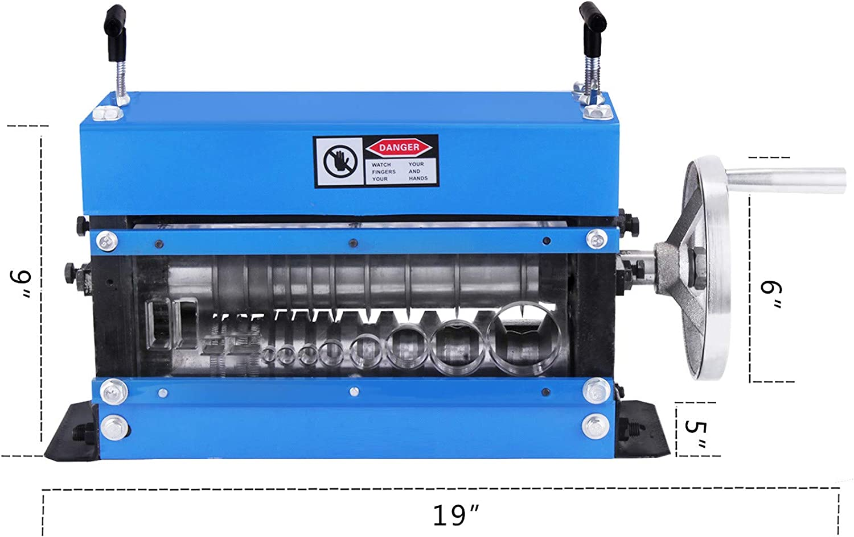 Mophorn D/énudeur de C/âbles manuel /Φ1.5mm ~ /Φ35mm D/énudeur de fils de cuivre