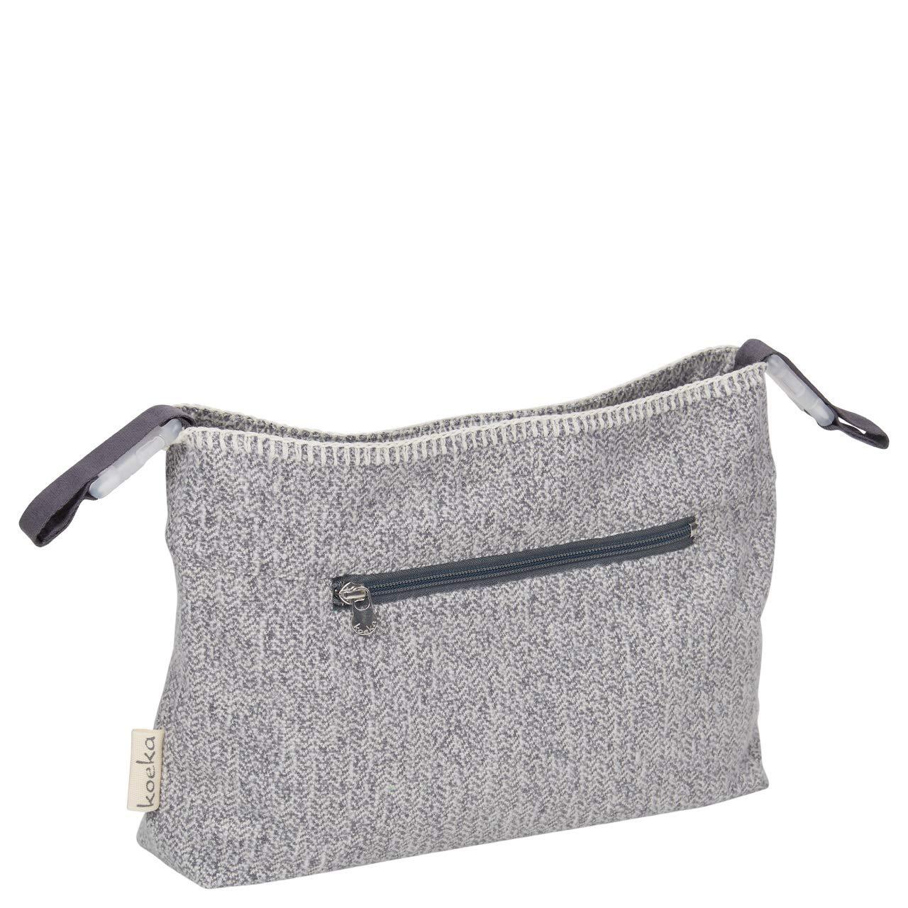 Koeka Kinderwagentasche//Buggy Organizer Vigo Sparkle Grey One