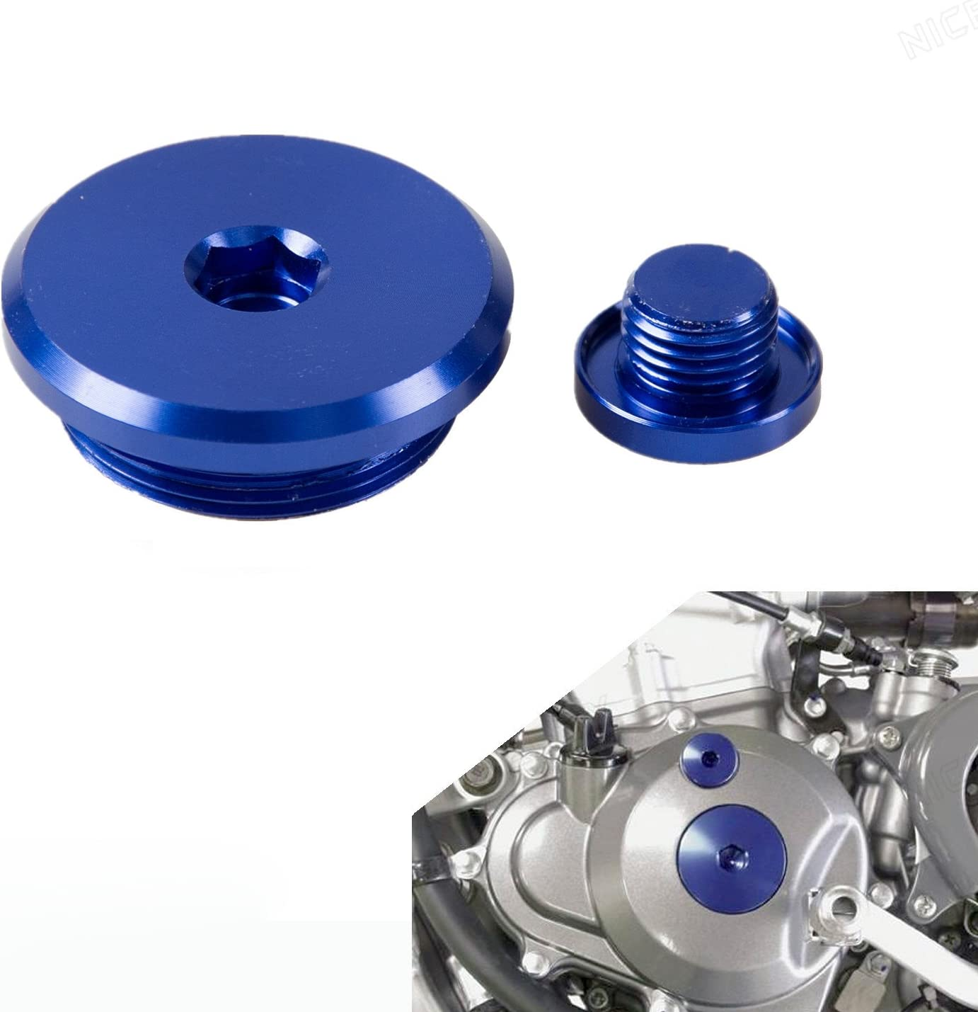 Outlaw Racing Anodized Billet Engine Plug Kit-Red