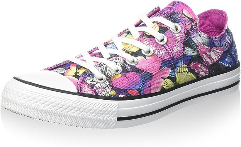 Aclarar principalmente Vibrar  Converse All Star Ox Can Graphics - Zapatillas Mujer: Amazon.es: Zapatos y  complementos