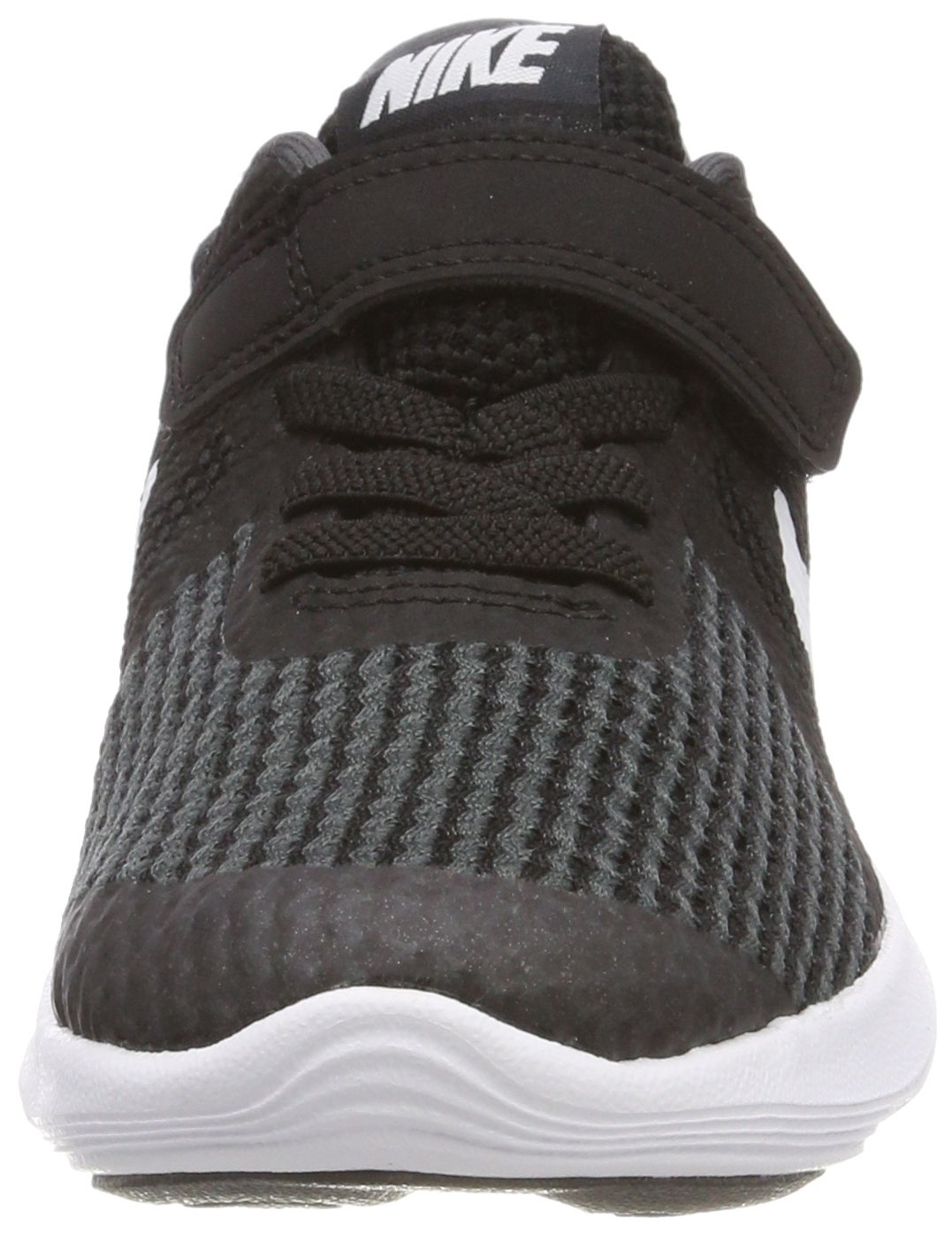 Nike Boys' Revolution 4 (PSV) Running Shoe, Black/White-Anthracite, 10.5C Youth US Little Kid by Nike (Image #4)