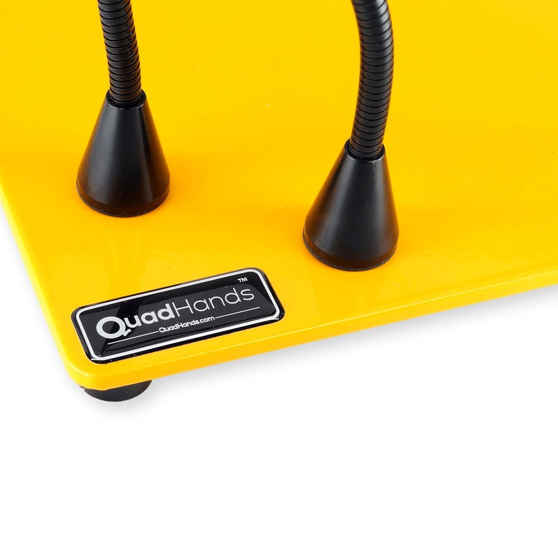 La m/áxima flexibilidad Mellon amarillo Extra grande brazos de montaje magn/ético se puede colocar en cualquier lugar QuadHands Workbench Deluxe Manos que ayudan tercer sistema mano