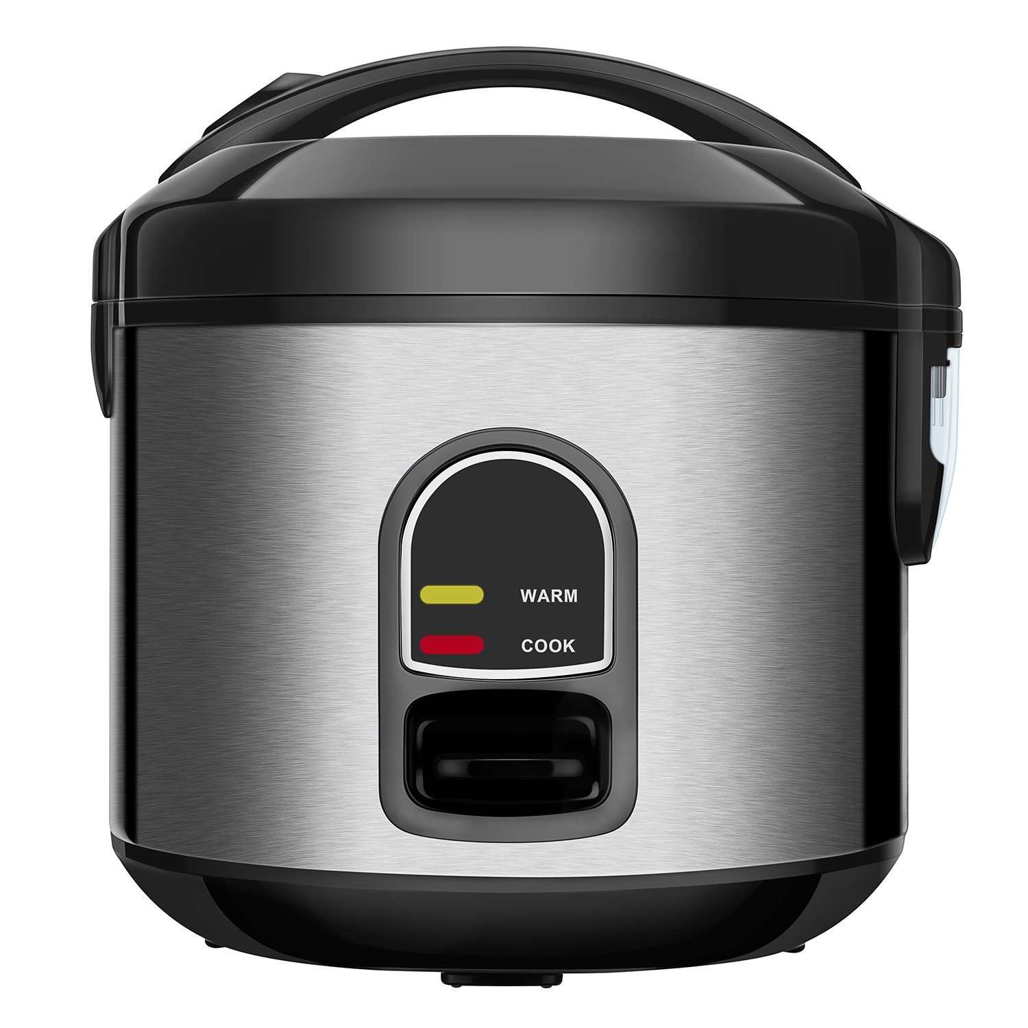 Small Rice Cooker Food Steamer, Home Gizmo 5-Cup (Uncooked) Mini Rice Cooker Multi-Food Steamer for Grains and Hot Cereal with One-Touch Control and Automatic Keep Warm Function by Home Gizmo (Image #1)
