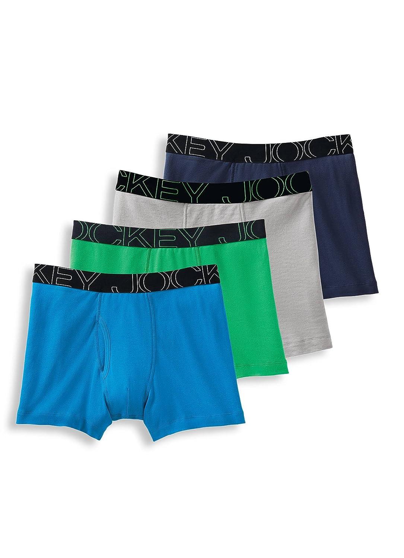 ec4876a91178 Top4: Jockey Men\'s Underwear ActiveBlend Boxer Brief - 4 Pack