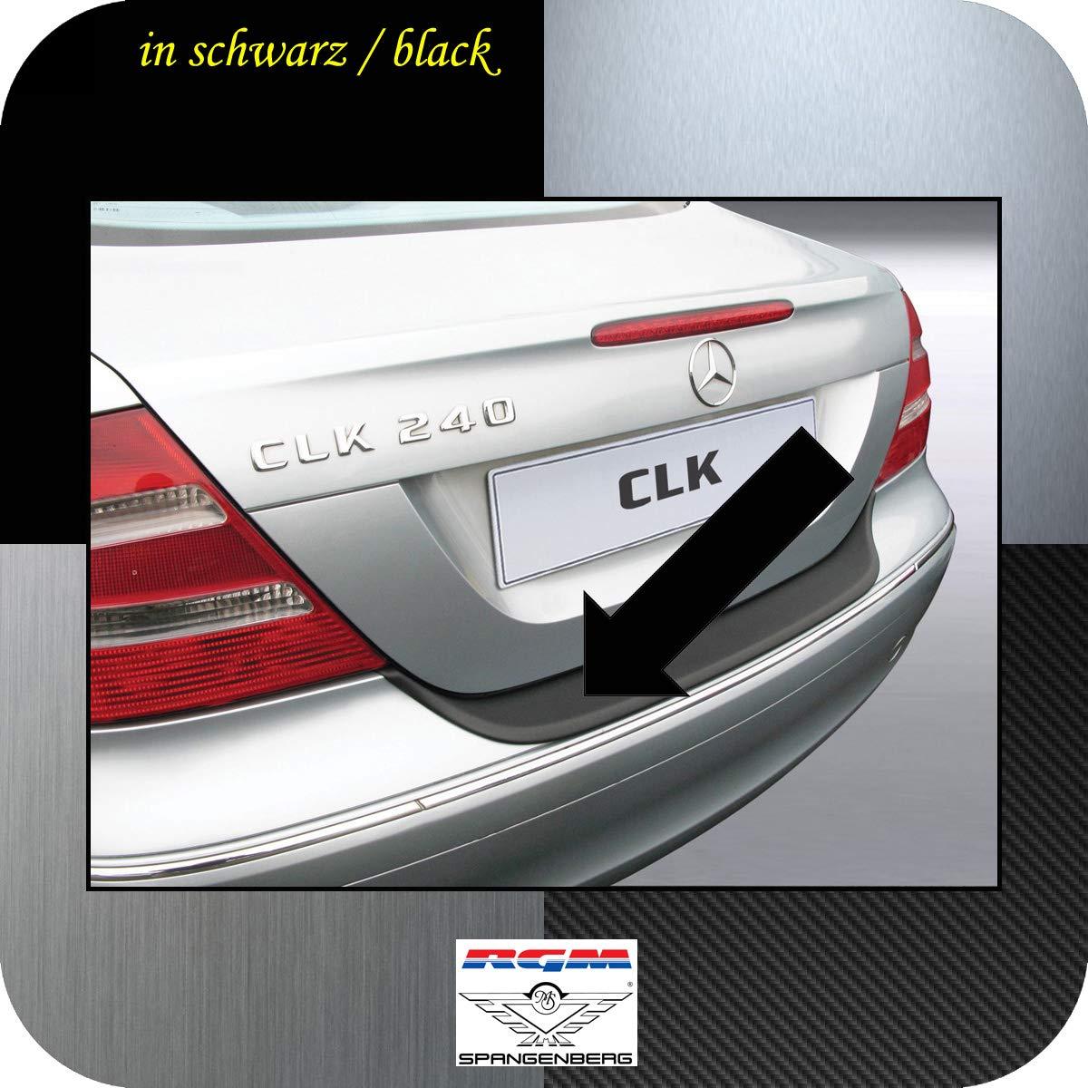 Original RGM ladekant Protección Negro para Mercedes Benz Clase CLK C209 Coupe y A209 Cabriolet (W 209) a partir de Facelift Diseño años 09.2005 - 04.2009 ...