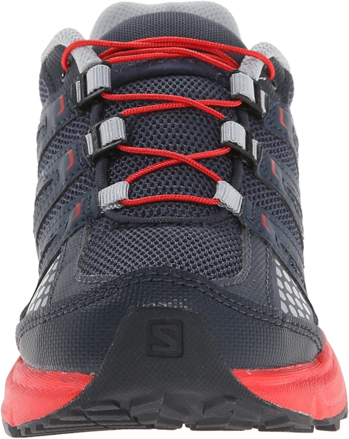Salomon XR Mission J, Zapatillas de Trail Running Infantil, Gris - Grau (Grey Denim/Deep Blue/Bright Red), 36 EU: Amazon.es: Zapatos y complementos