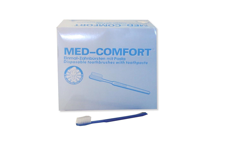 100 un cepillo de dientes tiempo con pasta de dientes, cepillo de dientes disponible: Amazon.es: Salud y cuidado personal