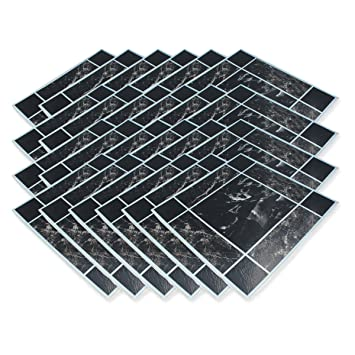 24 Pack Anti Slip Self Adhesive Floor Tiles Just Peel Stick
