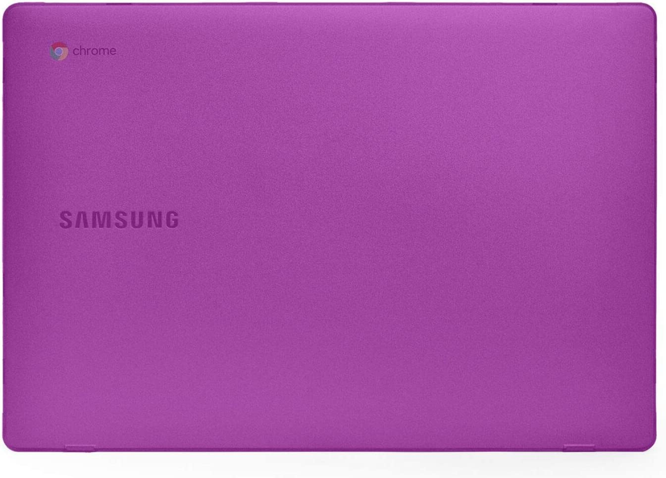 mCover Hard Shell Case for New 2020 15.6'' Samsung ChromeBook 4+ XE350XBA Series Laptop (Purple)