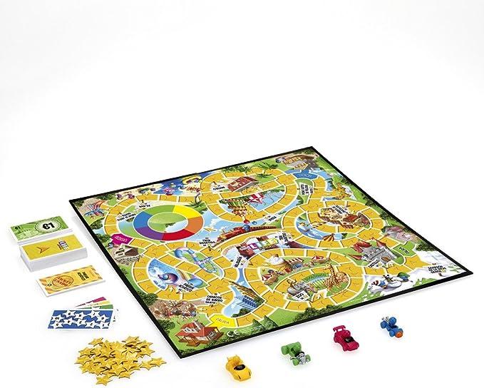 Hasbro Gaming - Clasico Game of Life Junior (B0654SC5): Amazon.es: Juguetes y juegos