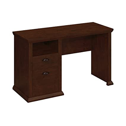 Bush Furniture Yorktown Home Office Desk in Antique Cherry - Amazon.com: Bush Furniture Yorktown Home Office Desk In Antique