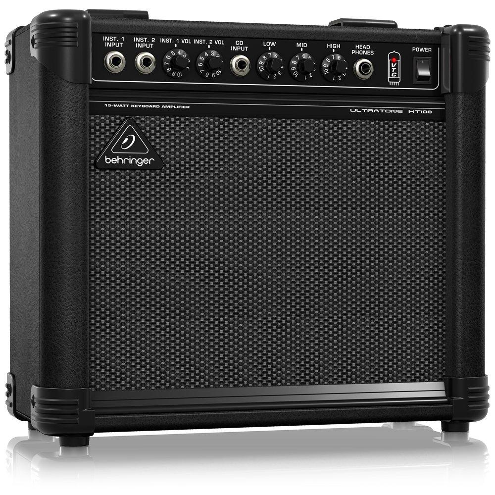 Amplificador de Teclado ULTRATONE KT108: Amazon.es: Instrumentos musicales