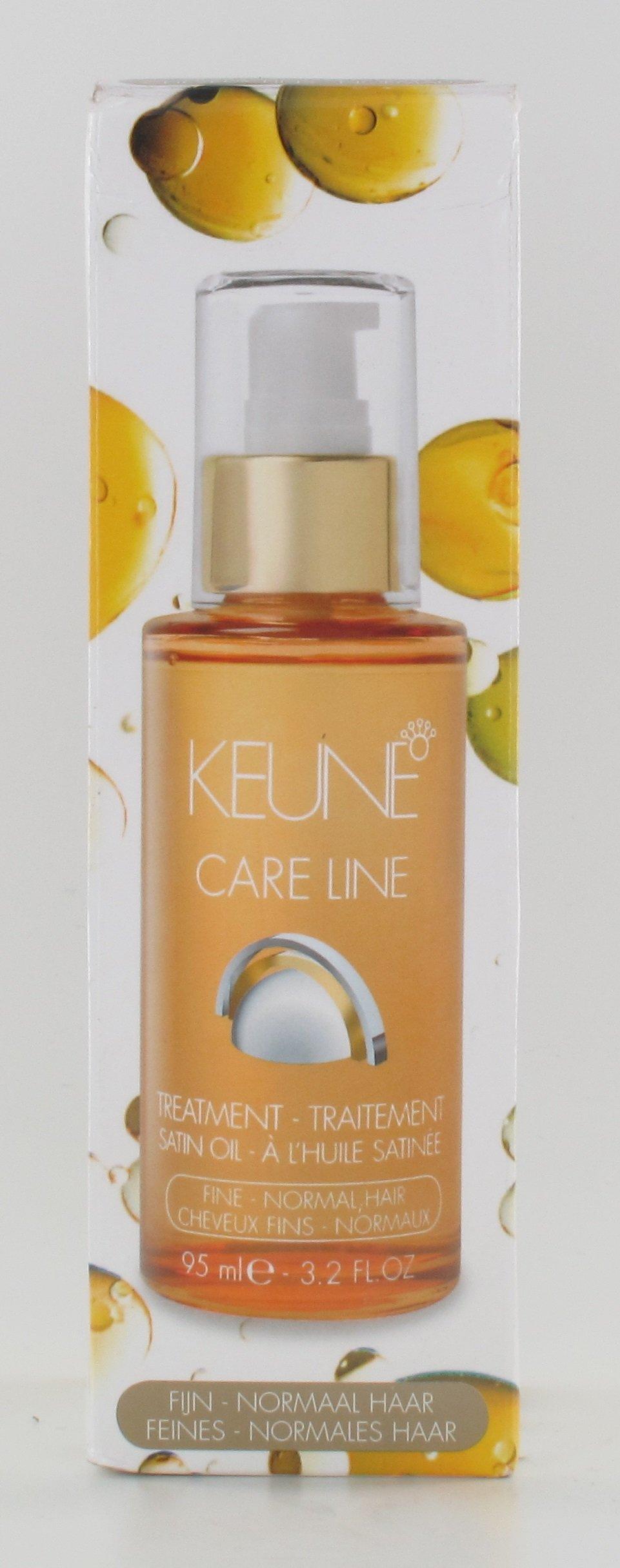 Keune Care Line Satin Oil Treatment For Fine-Normal Hair 3.2oz
