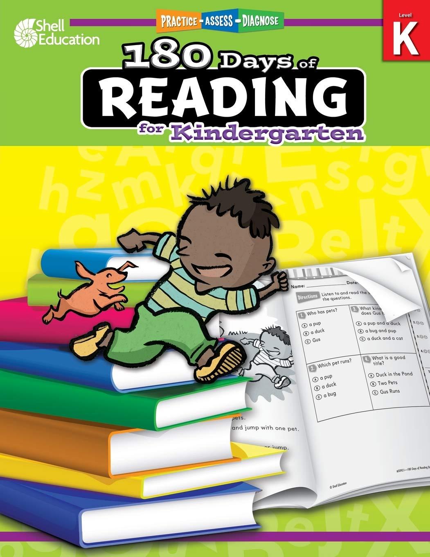 - Amazon.com: 180 Days Of Reading: Grade K - Daily Reading Workbook