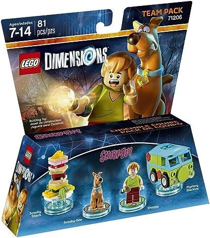 Warner Bros Interactive Spain Lego Dimensions - Scooby-Doo: Lego Dimensions Scooby Doo Team Pack: Amazon.es: Videojuegos