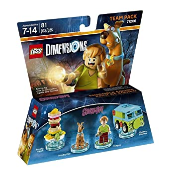 Figurine Scoobyamp; Shaggy Dimensions' DooPack 'lego MLUpGSzVq
