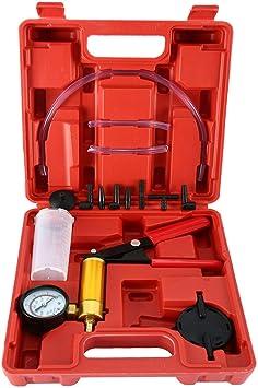 Vakuum Pumpe Vakuumtester Hand Vakuumpumpe Auto Bremsenentl/üfter Bremsenentl/üftungsger/ät KFZ