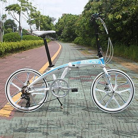 ANJING Bicicleta Plegable de 33 Libras de Aluminio Ligero Shimano ...