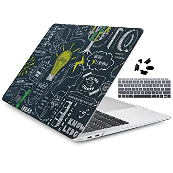 Amazon.com: Dongke - Carcasa rígida para MacBook Air de 13 ...