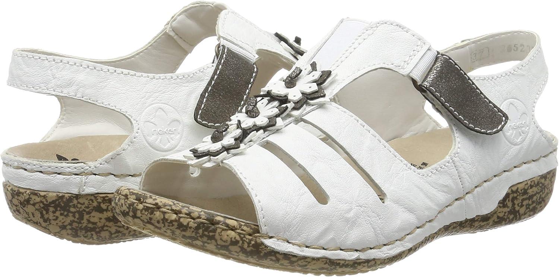 Rieker Damen V7273 81 Geschlossene Sandalen