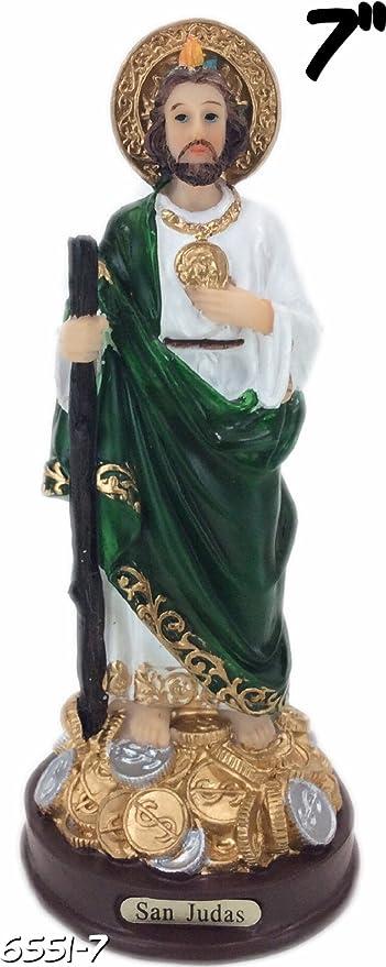 """Saint Jude San Judas Tadeo Estatua St Santo Figurine New 3/"""" Set of 12 pcs"""