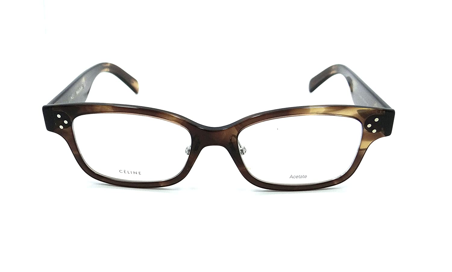 e46ad0db00 Celine Rx Eyeglasses Frames CL 41438 F 07B 52-18-150 Havana Brown Asian Fit  at Amazon Women s Clothing store