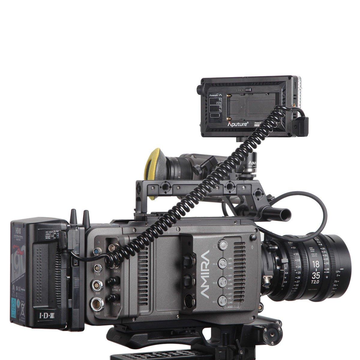 Aputure Amaran AL-F7 3200-9500K CRI/TLCI 95 LED panel LED video camera light (Aputure H198 Upgrade Version) with DigiKit cleaning cloth by Aputure (Image #8)