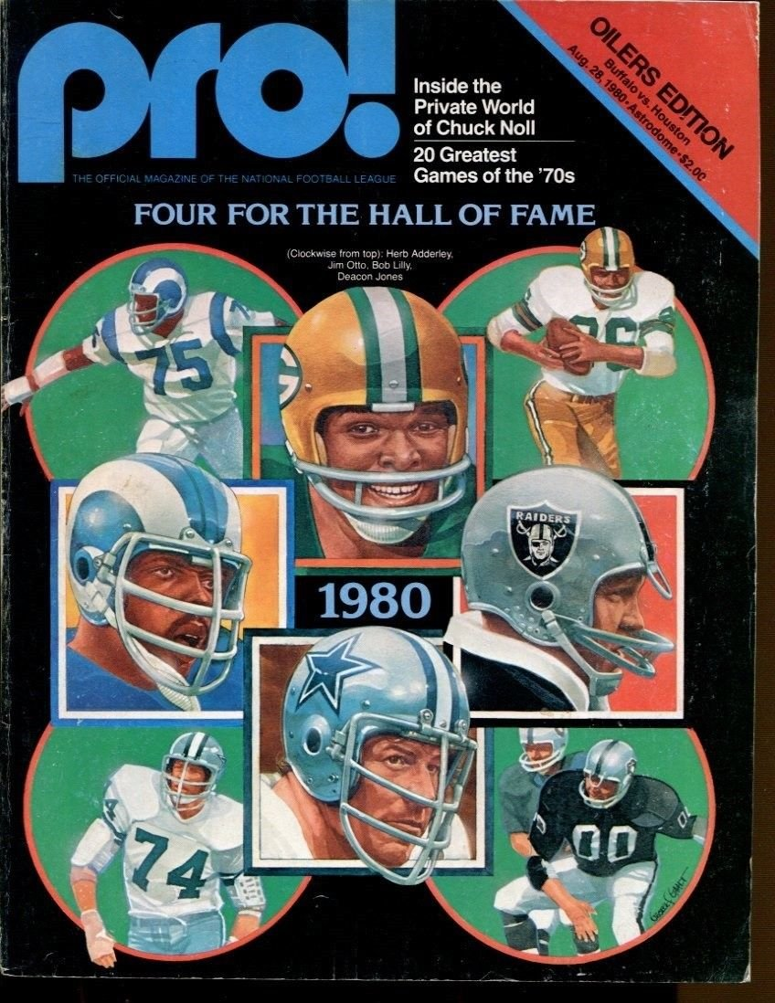 1980 Houston Oilers v Buffalo Bills Program 8 2 Astrodome 40915b7 at  Amazon s Sports Collectibles Store ee424fd97