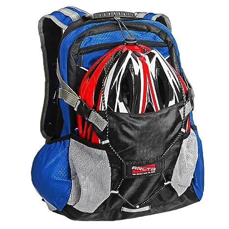 7d53ed6429e4 Arltb Bike Backpack Helmet Storage Cycling Backpack Hiking Backpack Travel  Backpack Waterproof Backpack Motorcycle Backpack, Motorcycle Helmet Bag ...