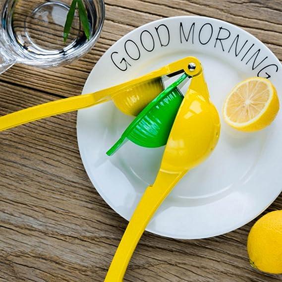 Compra Exprimidor de limones, FOME portátil amarillo limón ...