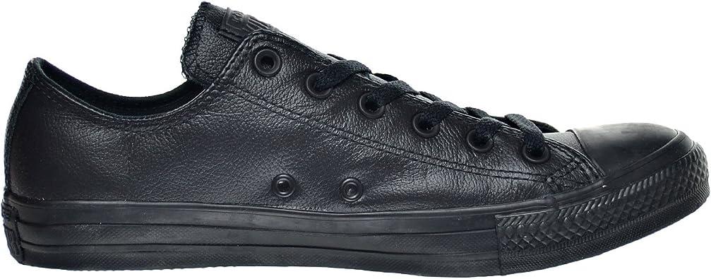 Converse Chuck Taylor All Star OX Men's Shoe Black Mono 135253c (4 D(M) US)