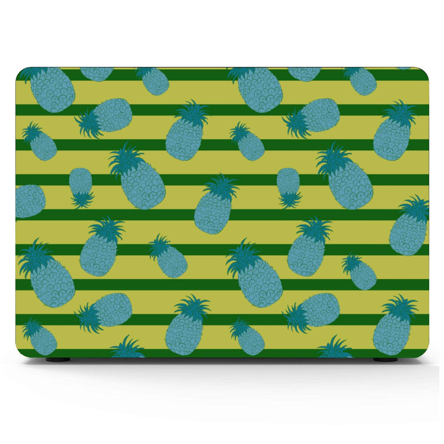 MacBook Pro Laptop Summer Fashion Sour Fruit Pineapple Plastic Hard Shell Compatible Mac Air 11 Pro 13 15 15 Inch Laptop Cover Protection for MacBook 2016-2019 Version