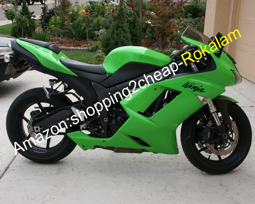 Amazon.com: For Kawasaki Ninja ZX-6R 07 08 ZX 6R 636 ZX636 ...