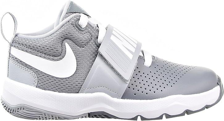 Nike Team Hustle D 8 (PS), Chaussures de Basketball Garçon