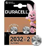 Duracell Pilas de botón de litio 2032 de 3 V, paquete de 2, con Tecnología Baby Secure, para uso en llaves con sensor…