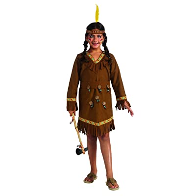 Drama Queens Native American Girl Costume, Large: Toys & Games